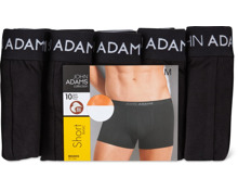 Bio John Adams Herren-Short, 10er-Pack