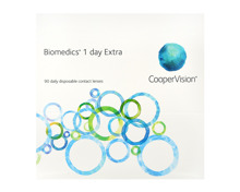 Biomedics 1 day Extra, 90er Pack