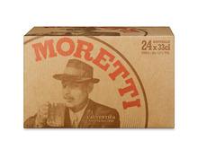 Birra Moretti, 24 x 33 cl