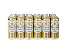 Bitburger Bier, Dosen, 24 x 50 cl