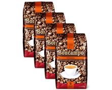 Boncampo Classico Kaffee, in Bohnen oder gemahlen, im 4er-Pack, UTZ