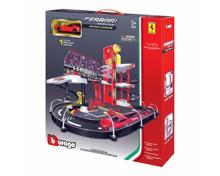 Burago Ferrari Racing Garage inkl. 1 Auto