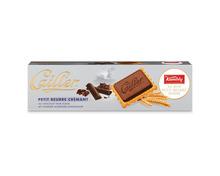 Cailler Kambly Petit Beurre Chocolat Noir, 3 x 125 g, Trio