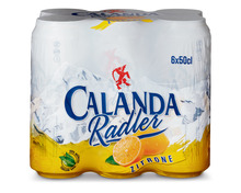 Calanda Radler Bier, Dosen, 6 x 50 cl