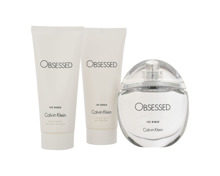 Calvin Klein Obsessed For Woman EdP Vapo 100 ml + Bodylotion 100 ml + Showergel 100 ml