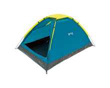 Camping-Zelt Guruu Wind 2 grün-gelb