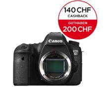CANON EOS 6D Body + CHF 140.- Cashback oder CHF 200.- Guthaben