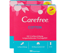Carefree Slipeinlagen Cotton