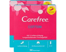 Carefree Slipeinlagen Cotton