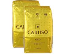 Caruso Oro Kaffee Bohnen oder gemahlen im Duo-Pack, UTZ