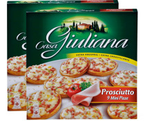 Casa Giuliana Mini-Pizze im Duo-Pack, Duo-Pack
