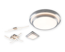 CASALUX LED-Deckenleuchte mehrflammig