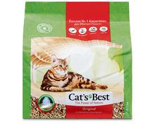 Cat's Best Original Katzenstreu, klumpend und einkapselnd, 4,3 kg