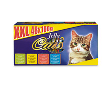 Cat's XXL Box, in Gelée, 48 x 100 g