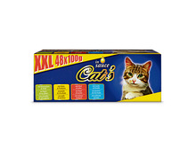 Cat's XXL Box, in Sauce, 48 x 100 g