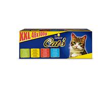Cat's XXL Box, in Sauce, 48 x 100 g