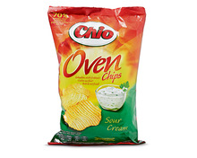 Chio Ovenchips Sour Cream, 2 x 150 g, Duo