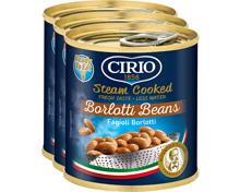 Cirio gedämpfte Borlottibohnen
