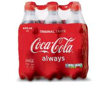 Coca-Cola Classic, 6 x 45 cl