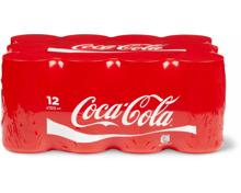 Coca-Cola-Classic und -Zero im 12er-Pack