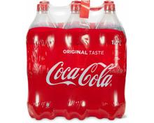 Coca-Cola im 6er-Pack, 6 x 1.5 Liter