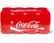 Coca-Cola Mini-Dosen im 12er-Pack, 12 x 15 cl