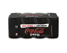 Coca-Cola Zero, 12 x 15 cl