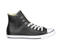 Converse All Star Hi Leather schwarz-weiss