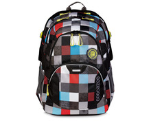 Coocazoo Rucksack JJ2 Checkmate Blue Red