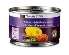 Coop Ananas, 4 Scheiben, 6 x 140 g, Multipack