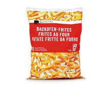 Coop Backofen-Frites, Schweiz, tiefgekühlt, 2 x 1 kg, Duo