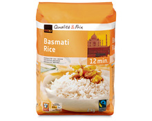 Coop Basmati Reis, Fairtrade Max Havelaar, 2 kg