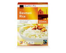 Coop Basmati Rice, Fairtrade Max Havelaar, 3 x 1 kg, Trio