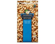 Coop Cashews, Fairtrade Max Havelaar, geröstet und gesalzen, 600 g