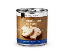 Coop Champignons geschnitten, 6 x 114 g, Multipack