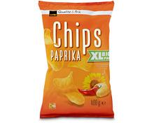 Coop Chips Paprika, Big Pack XL, 400 g
