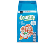 Coop Country Crunchy Müesli Kokos & Apfel, 2 x 400 g