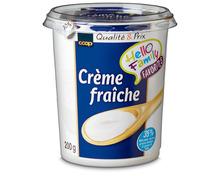 Coop Crème fraîche Nature, 2 x 200 g