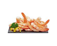 Coop Crevetten, ASC, blanchiert, Tail-On, aus Zucht, Vietnam, in Selbstbedienung, 450 g