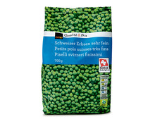Coop Erbsen fein, Schweiz, tiefgekühlt, 3 x 700 g