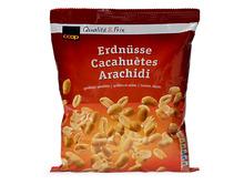 Coop Erdnüsse, geröstet und gesalzen, 750 g