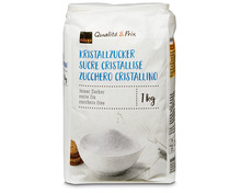 Coop Feinkristallzucker, 4 x 1 kg, Multipack