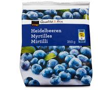 Coop Heidelbeeren, tiefgekühlt, 3 x 350 g
