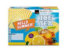 Coop Ice Tea Lemon, Fairtrade Max Havelaar, 12 x 1 Liter