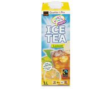 Coop Ice Tea Lemon, Fairtrade Max Havelaar, 6 x 1 Liter