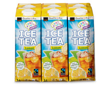 Coop Ice Tea Lemon, Fairtrade Max Havelaar, 6 x 1 Liter