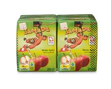 Coop JaMaDu Apfelsaft, 4 x 20 cl