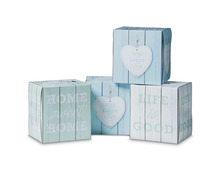Coop Kosmetiktücher Design Würfel, FSC, 3-lagig, 4 x 60 Stück, Quattro