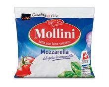 Coop Mollini Mozzarella, 6 x 150 g