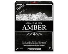 Coop Naturaplan Appenzeller Bio-Bier Gran Alpin Amber, 6 x 33 cl